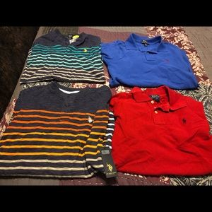 4  youth boys (14/16) Ralph Lauren polo shirts